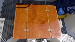 cockpit table - raised