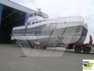 Aluminium Hull to be finished // 19m / 12 pax Crew Transfer Vessel for Sale / #1106642