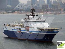 105m / 14,5knts Survey Vessel for Sale / #1043798