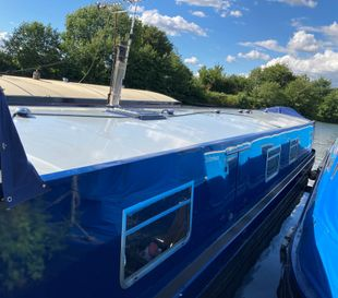 Totoro 57x11ft Widebeam with Residential Mooring in London
