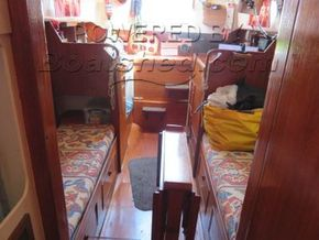 Twister 28  - Looking Aft