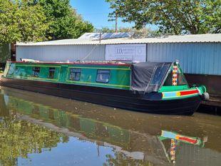 Tangent 55ft 2002 JD Boats 3 berth semi traditional stern narrowboat