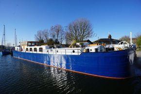 Belgium Spitz Dutch Barge Flat bottom, steel hull with rivets - Main Photo
