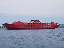 OPEN TYPE DOUBLE END RO/PAX FERRY