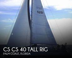 1990 Canadian Sailcraft CS 40 Tall Rig