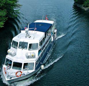 1977 50' x 15' Aluminum 98 Passenger Tour/Dinner Boat