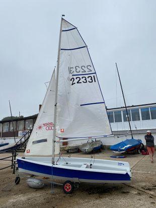 Laser 2000 Sail Number 22331