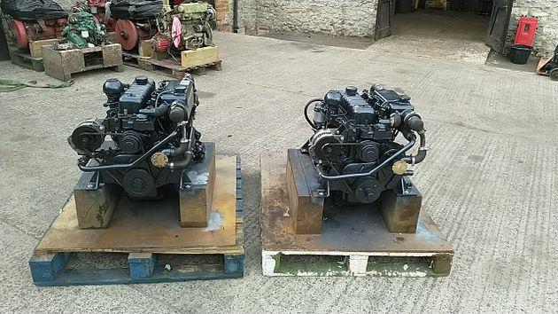 Perkins 4108 51hp Marine Diesel Engine (PAIR AVAILABLE)