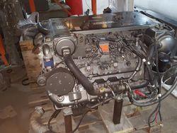 Yanmar V8 diesel