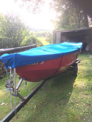 16 foot Open Boat   Fishing Boat including Road Trailer