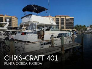 1973 Chris-Craft 401 Commander