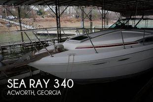 1985 Sea Ray 340
