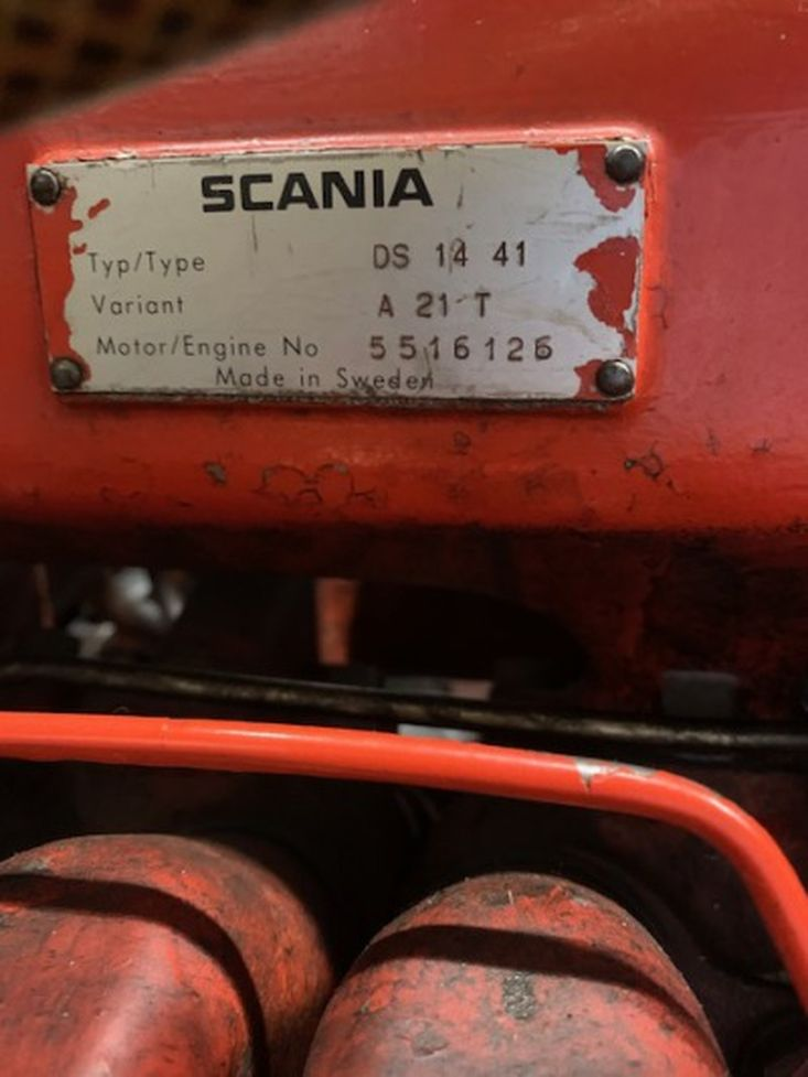 SCANIA DS 1441 A 21T SN 5516125