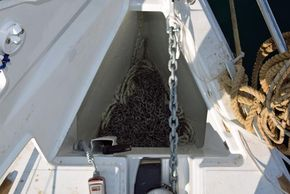 Jeanneau Sun Odyssey 449  - Anchor Locker