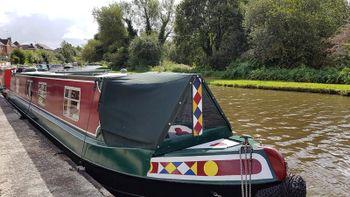 50 ft Semi Trad Narrowboat