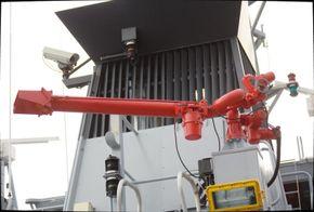 FiFi monitor with foam capability