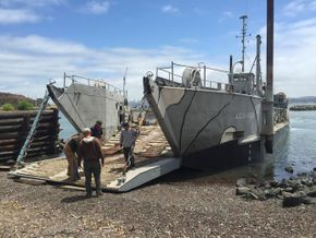 119' Landing Craft For Sale   www.horizonship.com