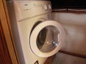 Under deck Wash Machine