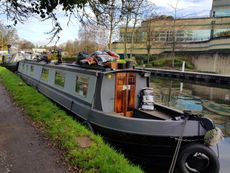 55ft Crusier Stern Narrowboat