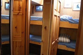 Fore cabins