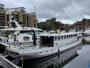 Edith Piaf's Love Boat St Katharine Docks