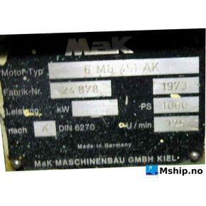 MaK 6 Mu 451 AK