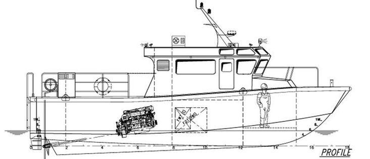 12.6mtr Pilot / Crew Boat New Build