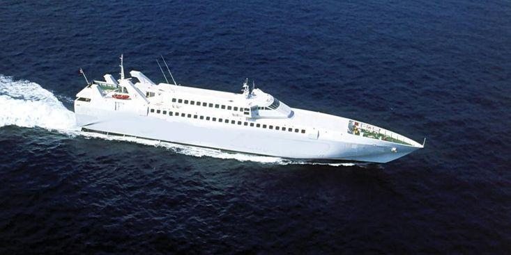 273' Fast Mono RoPax Ferry