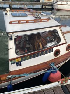 Price Reduced Trusty fishing boat (would be great as a canal boat)