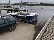 Trailable Catamaran Strider 24