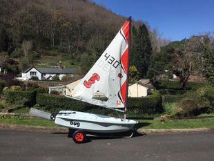 Laser Bug Sailing Dinghy