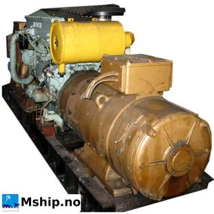 Mitsubishi 6D24-TCE2 fitted with two generators