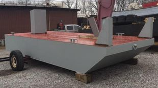 New  8′ x 20′ Push Boat - Built to order