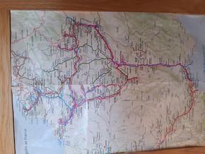 routes through france