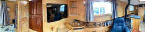 Saloon & galley