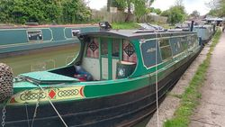 40' Cruiser Stern - Project Narrowboat