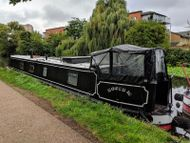 50ft semi-traditional stern Narrowboat