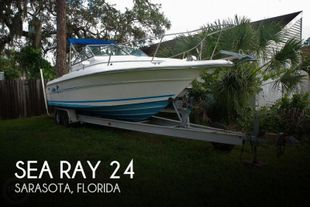 1996 Sea Ray Laguna 24 Flush Deck Cuddy