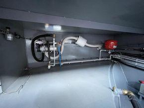 Webasto 95kw pressurised heating system