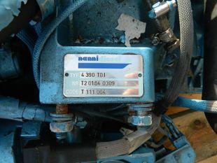 Nann. 4-390 TDI Marine Diesel Engine Breaking For Spares