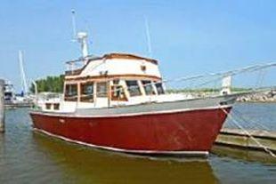 1986 40' x 13' Kettle Creek Blt Trawler