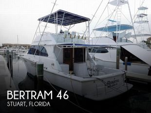 1984 Bertram 46 Sport Fish