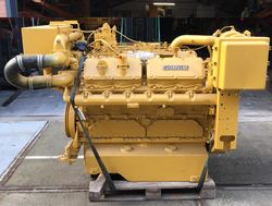 540 HP CATERPILLAR 3412DIT REBUILT MARINE ENGINES