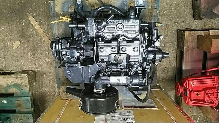 Lister Petter LPW2 Keel Cooled Marine Diesel Engine Package