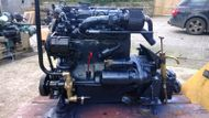 Mercedes OM636 42hp Heat Exchanger Cooled Marine Diesel Engine