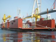 4500t Floating Dock