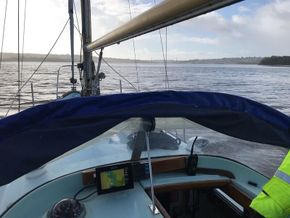 Helm position.