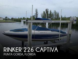 2008 Rinker 226 Captiva