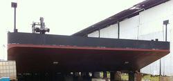 120ft  Pontoon barge