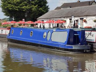Jokers R Wild - 50 foot semi traditional stern narrow boat